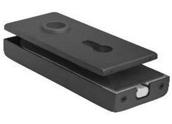 Black Magnetic Lock  prepared for Standard Cylinder and Handle