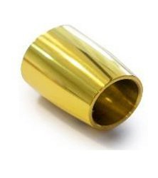 Ø 19 mm End Mount for Support Bar/ Brass Polish