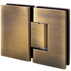 180° Glass Shower Hinge / Old Gold Finishing
