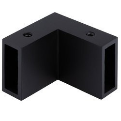 30x10 mm Corner Joint / Black Matte