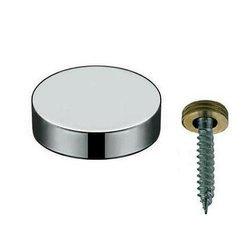 Mirror Fixings Screw Decorative Cap/ 15,18,22 mm / Polish, satin chrome