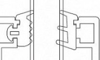 Set of Seals for 30x32 Fixed Panel  Profile