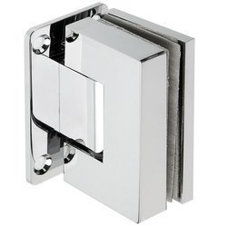Shower Wall Mount Hinge with hidden screws / Polish
