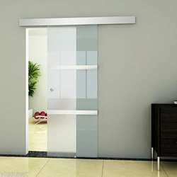 Sliding Clamping Glass Door System with cover – set (SL-200 )