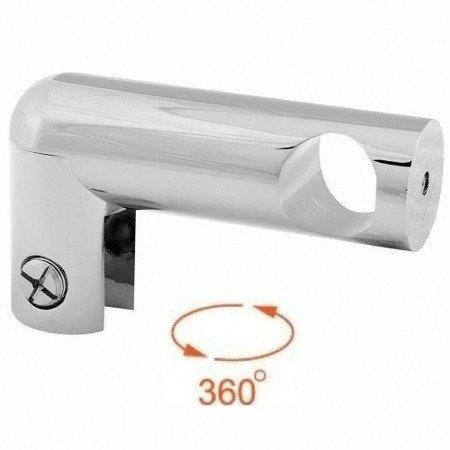 Ø 19 mm Side Wall Shower Support / Polish
