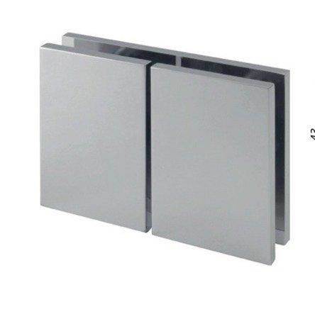 180° 72mm Glass Shower Bracket (Glass-to-Glass)