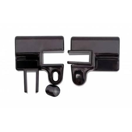 180 degree  Doorstep Connector Set / L/R / Matte Black