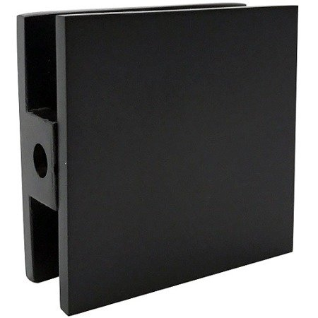 45x45 Black Glass Shower Connector
