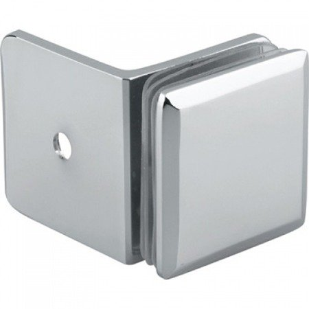 50x50  90° Connector (Wall-to-Glass)