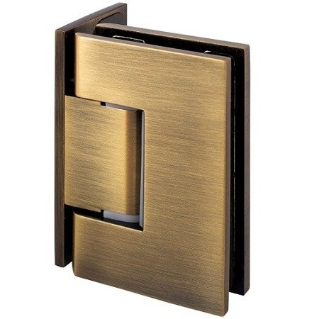 90° Glass Shower Hinge / Old Gold Finishing