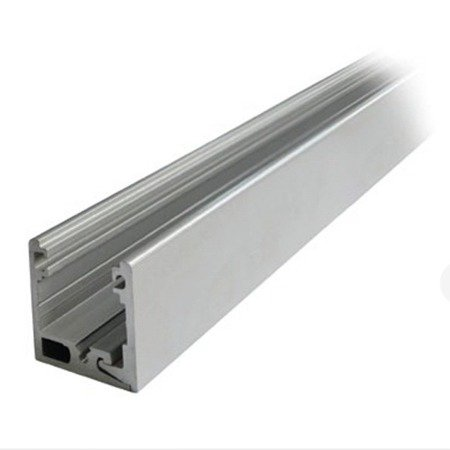 Fixed Panel 38x34 Profile with Seals for 10-10,76 mm Glass