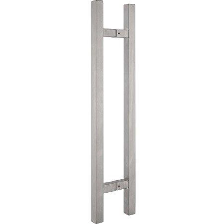Glass Door Handle,/Satin, L=450, 600, 1000 mm