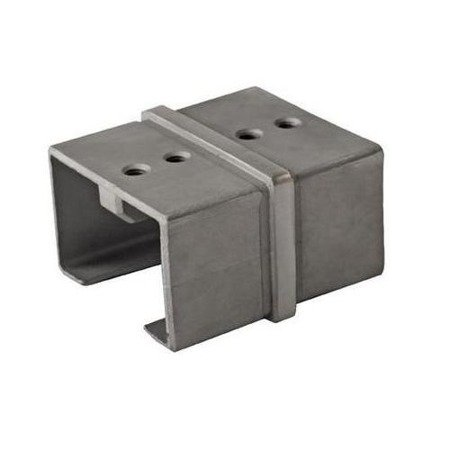 Straight Connector for 40x40 Glass Balustrade  Handrail PBK-01