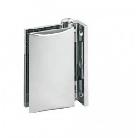 Wall-Glass Screen Hinge / Polish